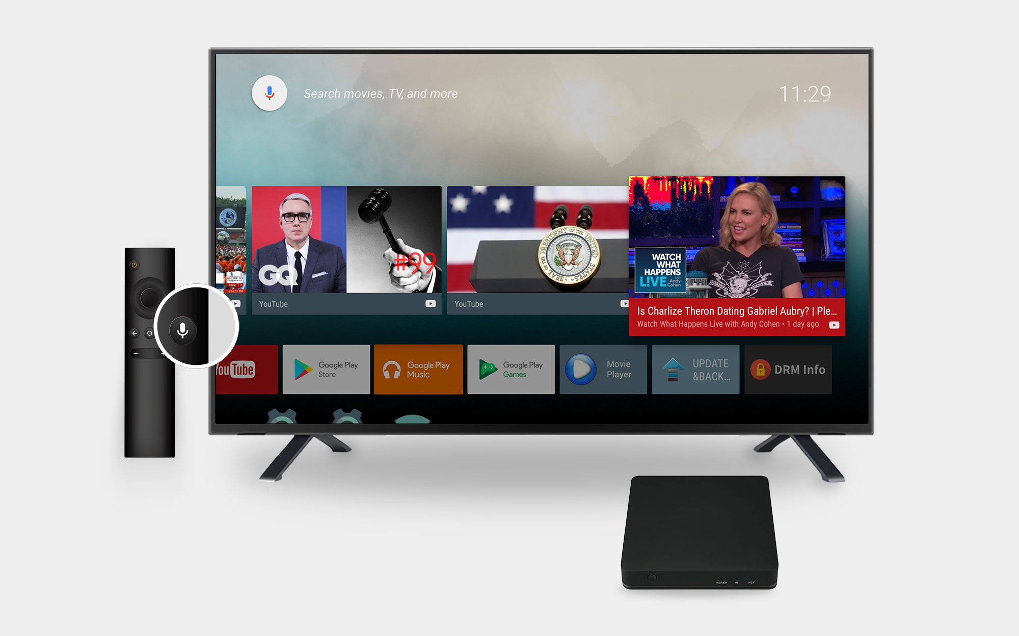 Android 7.1 Powered by Android TV